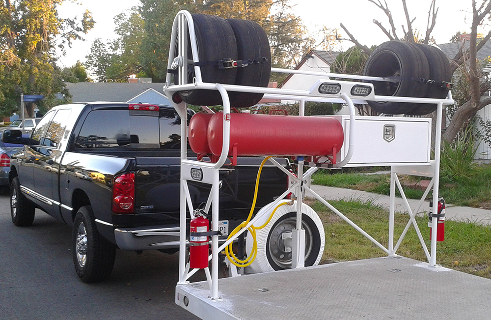 Tire Rack For Open Trailer Ideas Page 2